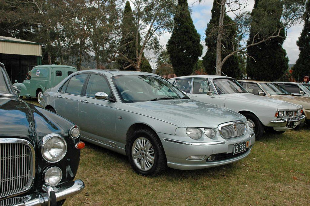 DSC_0096 2001 Rover 75 Connoisseur