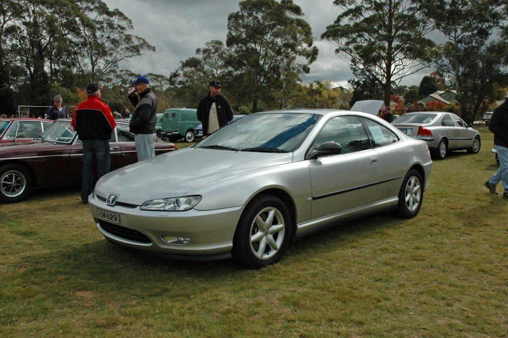 DSC_0131 2001 Peugeot 406 Coupe