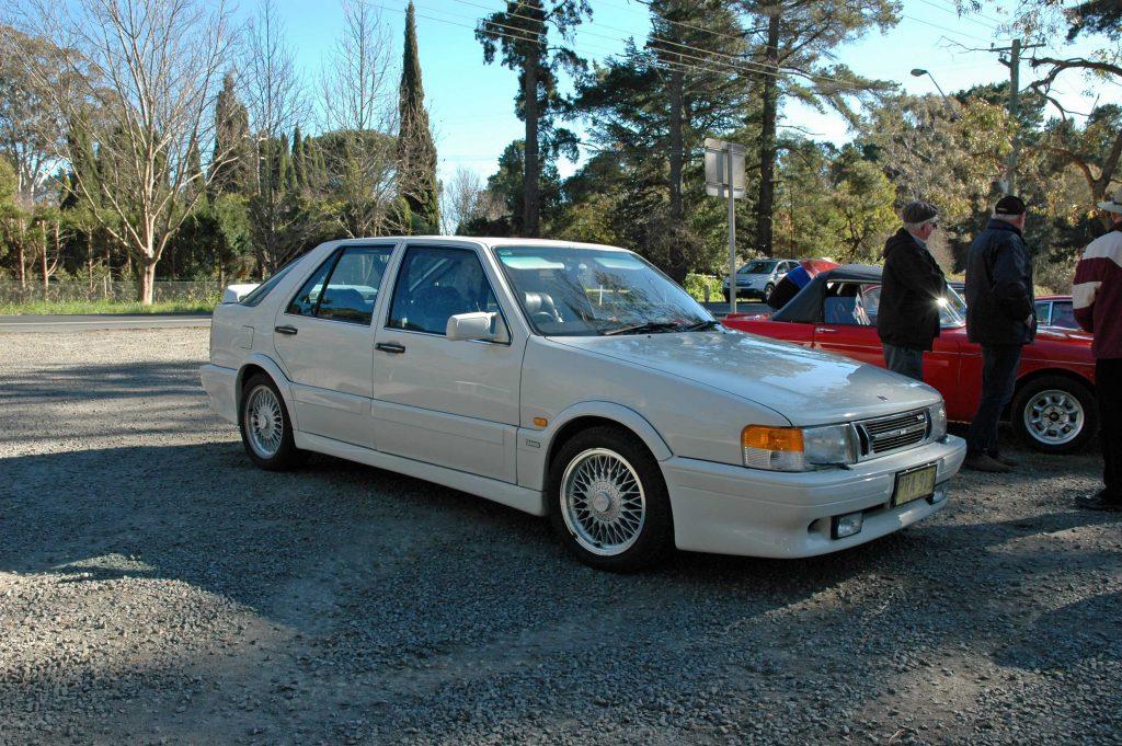 DSC_0167 1988 Saab 9000 Super Swede Burradoo 8-8-2012