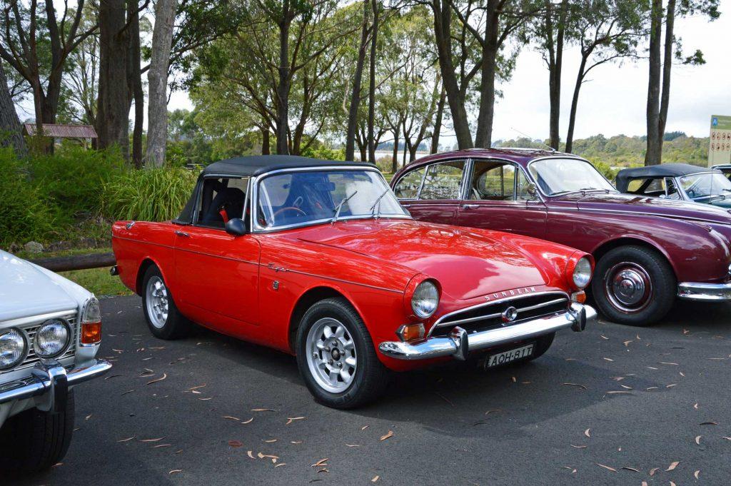 DSC_0021 1965 Sunbeam Tiger Fitzroy Falls 20-2-2013