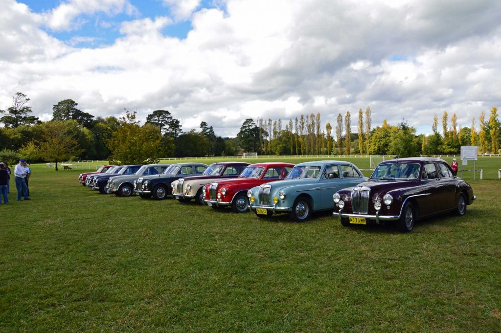 DSC_0240 MG Magnette Gathering Exeter 21-4-2013