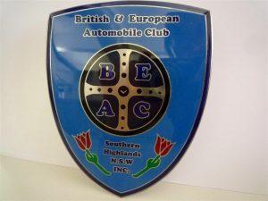 BEAC Car Badge