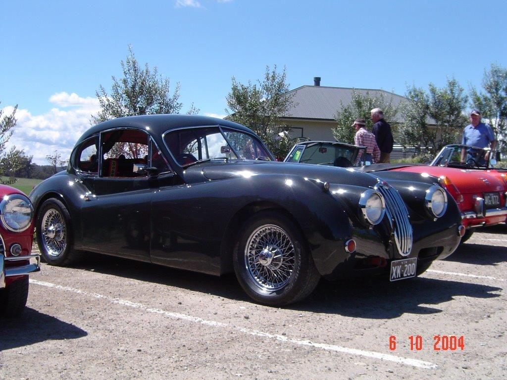 DSC00076 1956 Jaguar XK140 McVitty Grove High Range 6-10-2004