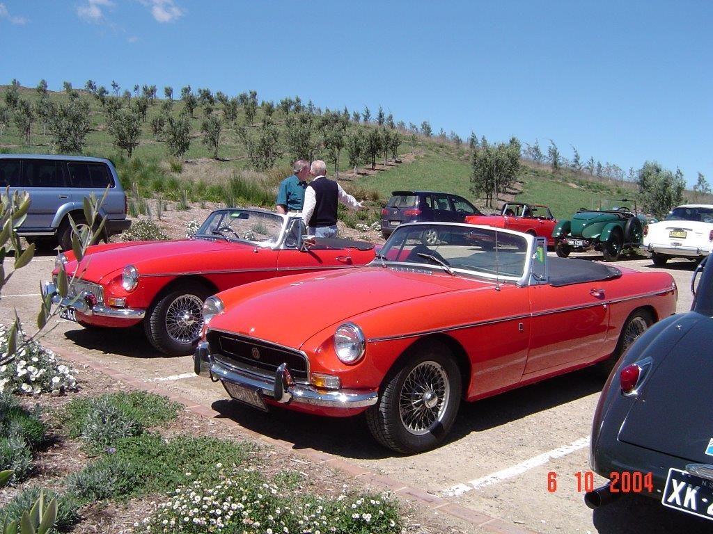 DSC00077 MGB 1966 & 1969 McVity Grove High Range 6-10-2004