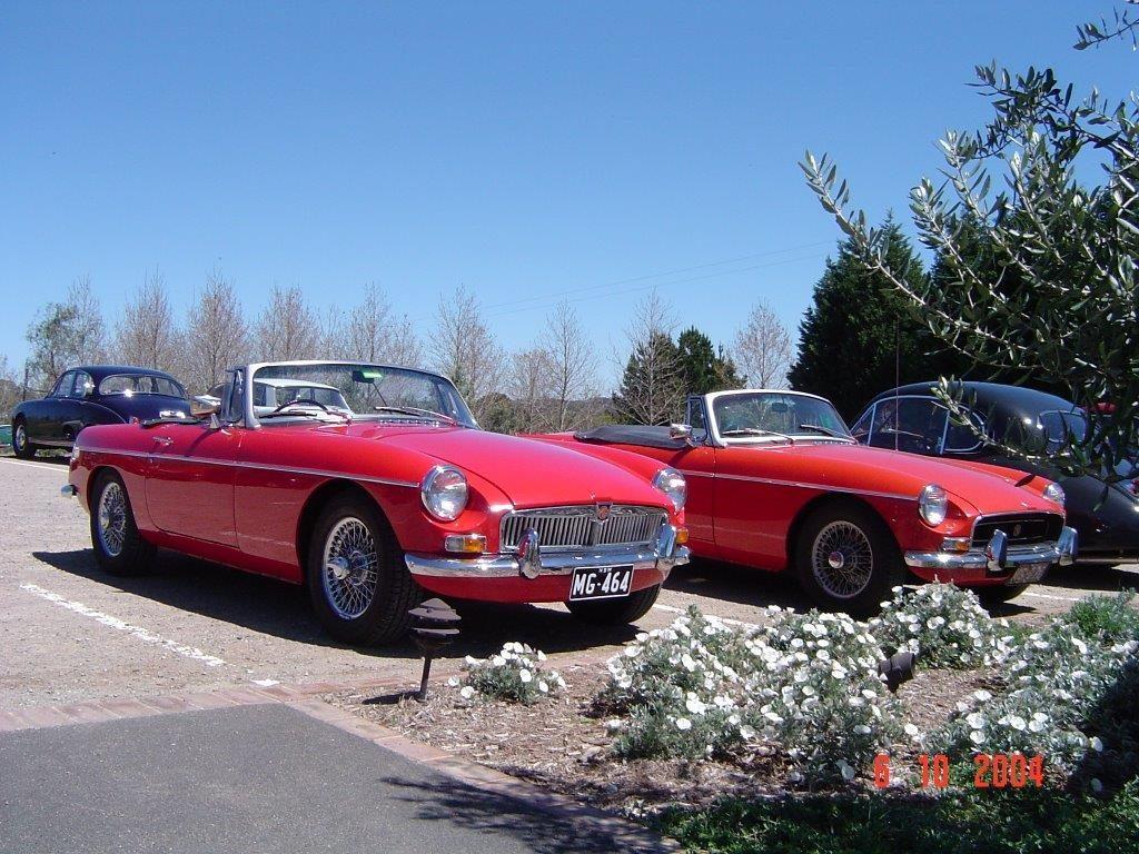 DSC00082 MGB 1966 & 1969 McVitty Grove High Range 6-10-2004